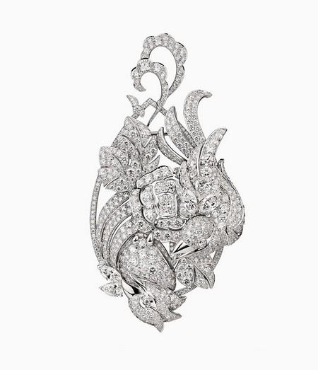 Брошь как скульптура: бриллиантовые птицы Chanel