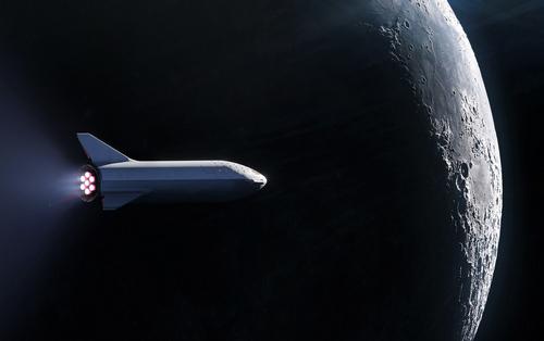 Space X объявила имя космического туриста Продан первый билет к Луне