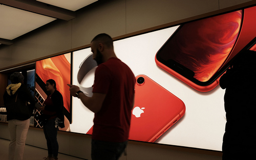 Apple, снизила долю рынка