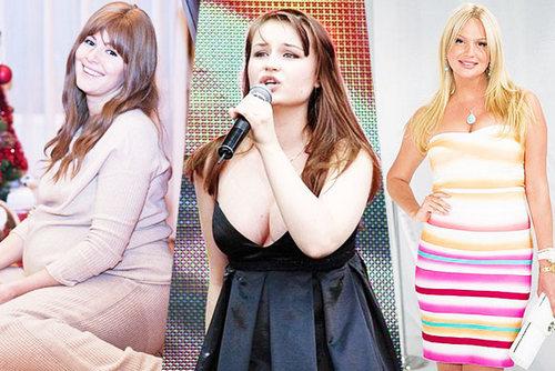 Русские звезды, которые сильно похудели