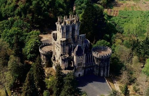 Испания, удивительные замки, со своей историей
