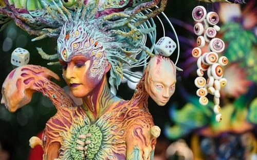 Всемирный фестиваль росписи по телу
