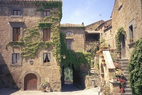 Город-призрак Чивита ди Баньореджо