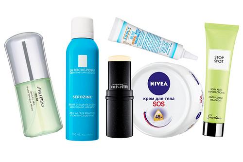 Sos-косметика для кожи летом: 10 лучших вариантов