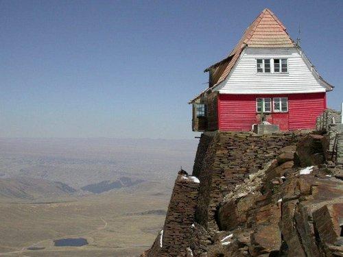 Боливия. Заброшенный горнолыжный курорт Чакалтая