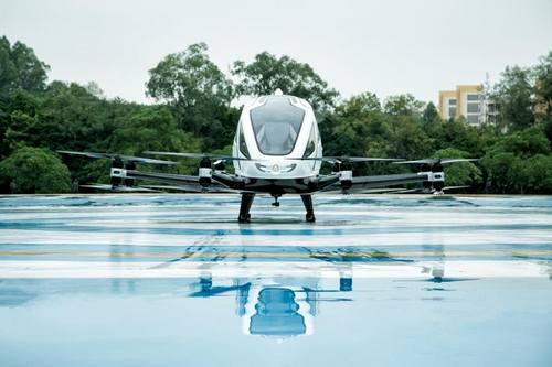 Производитель беспилотных воздушных такси из Китая