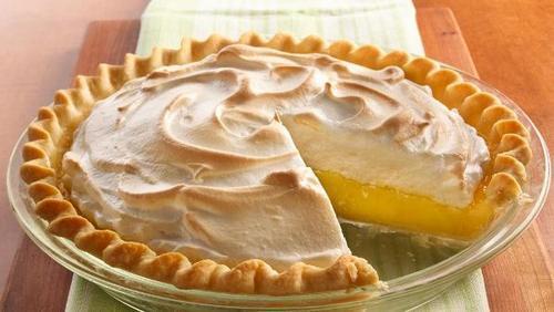 Пирог лимонный, по простым рецептам