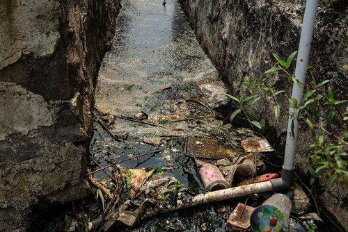 Читарум: как выглядит самая грязная река планеты грязь, отходы, река, факты