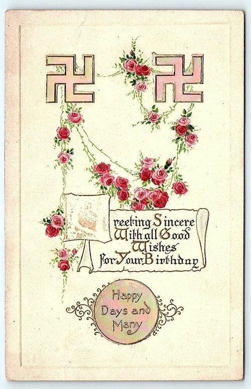 Поздравительные открытки, 1930-е годы