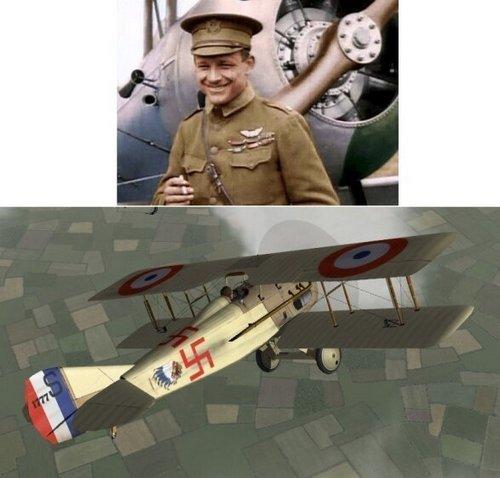 Вплоть до 1939 года свастика красовалась на крыльях американских и английских самолётов. Самолёты украшали этими символами без политического подтекст. - ведь знак приносил удачу