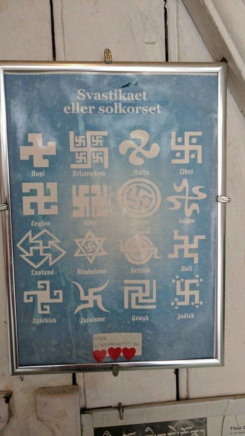 Во многих религиях Свастика является важным культурным символом