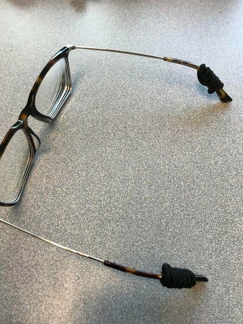 """14. """"На работе мне приходится часто наклоняться, но теперь мои очки не упадут!"""" Лайфхак, жизненно, интересно, полезно, фото, хитрости"""