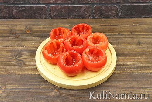 Фаршированные помидоры с фото