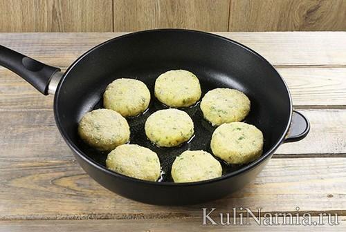 Рецепт картофельных биточков с фото
