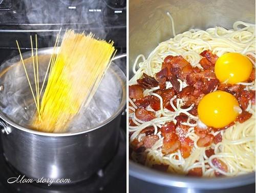 спагетти карбонара рецепт с фото