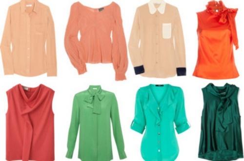Блузки для базового гардероба женщины после 40 лет