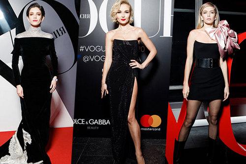 19 лучших бьюти-образов, с празднования 20-летия Vogue Россия