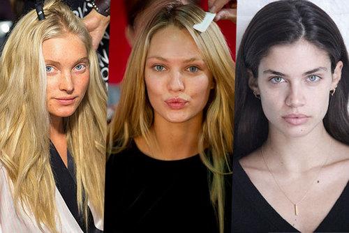 10 фотографий «ангелов» Victoria's Secret без макияжа
