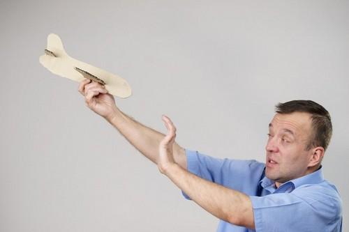 Аэрофобия, страх полетов