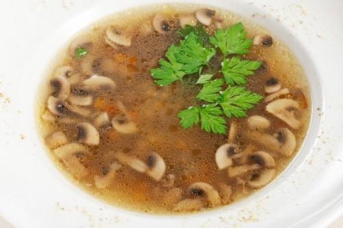 Грибной суп, из разных грибов