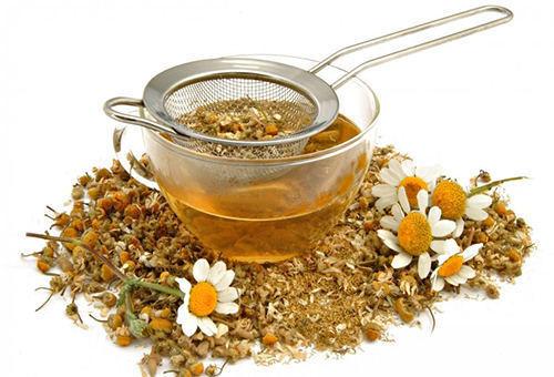 Ромашковый чай от коликов