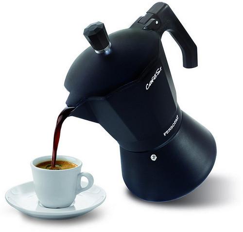 Эспрессо в кофеварке