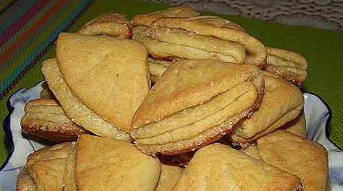 Творожное печенье треугольники