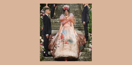 Показы Dolce Gabbana во Флоренции