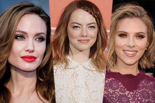 15 звездных примеров: как красить зеленые глаза