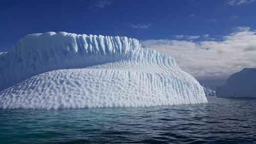 Ледяной покров на одном полюсе влияет на покрытие противоположного полюса