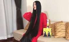 «Японская Рапунцель» 15 лет отращивала волосы и теперь терпит насмешки